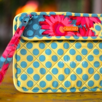Sunny Flora Mini Pad Case at Blisby