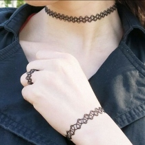 tattoo choker at Blisby