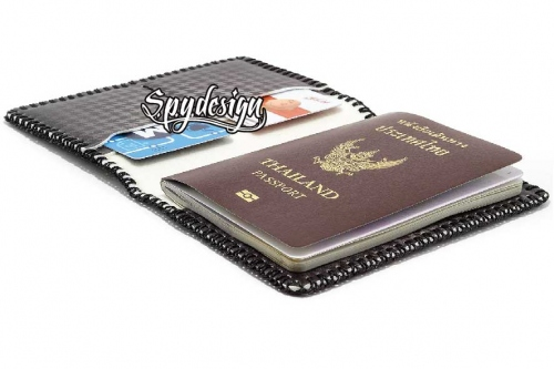 Leather Passport holder, Passport Wallet,Passport cover large image 3 by spydesign