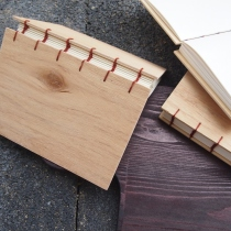Plywood Notebook สมุดโน๊ตปกไม้ at Blisby