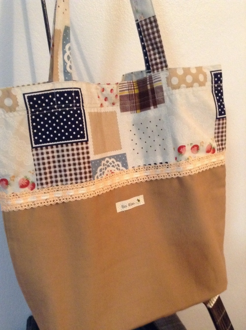 The sweet tote bag large image 0 by BeeMimFabricHandmade