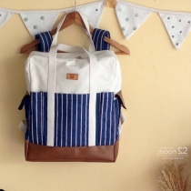 SQUARE BACKPACK  at Blisby