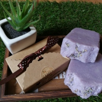 สบู่Homemade สูตร Shea butter Lavender at Blisby