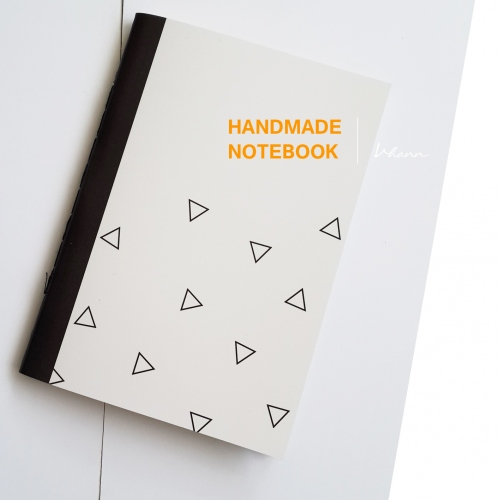 handmade notebook : Triangle large image 0 by vhannlittle