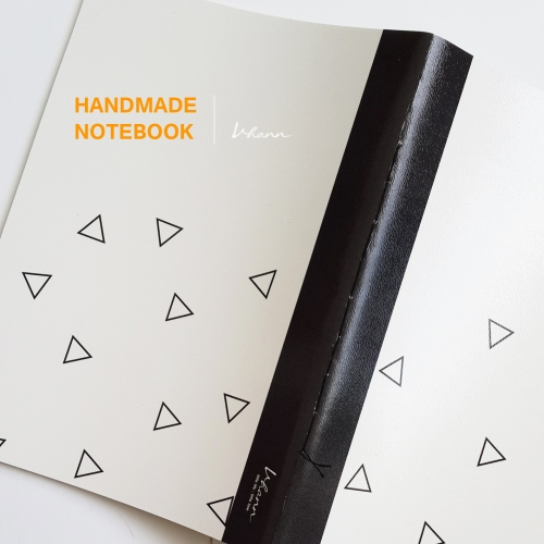 handmade notebook : Triangle large image 1 by vhannlittle