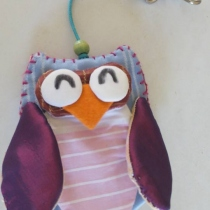 Key case owl - OWL002 at Blisby