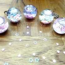 Glitter Snow Globe Ring at Blisby