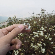 Flower ring  at Blisby