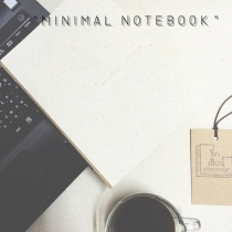 minimal  notebook at Blisby