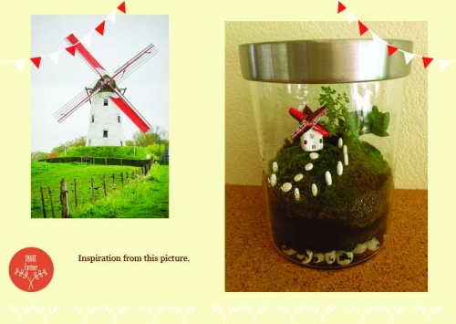 Dutch Windmill Terrarium large image 0 by SmartFarmer