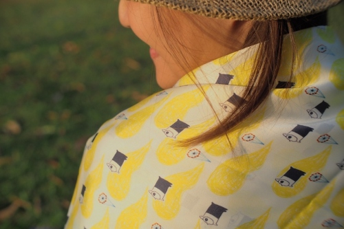 Pip Scarf ผ้าพันคอ ลาย The Yellow&Pole large image 0 by PipTheIllustory