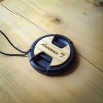 Mali Wooden Lens cap at Blisby