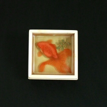 goldfish 3d resin painting at Blisby