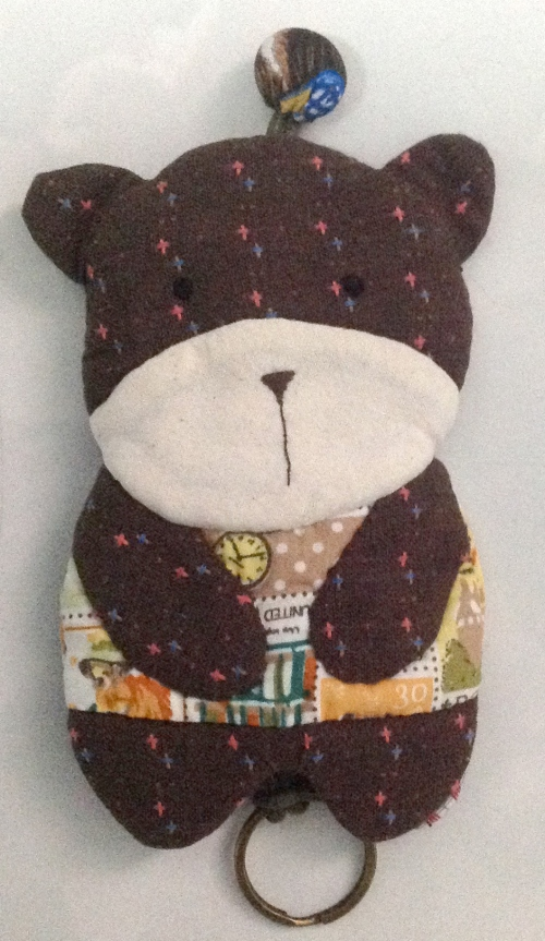 Key cover Bear  large image 0 by ILoveQuilt