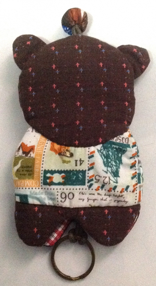 Key cover Bear  large image 1 by ILoveQuilt