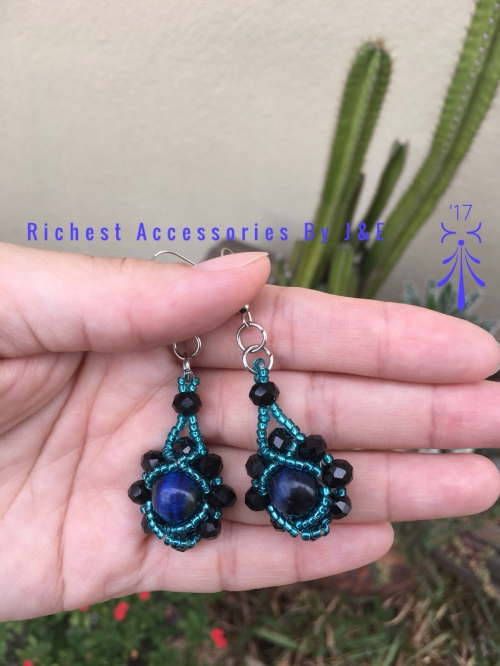 Sun Crystal Earrings large image 1 by RichestAccessoriesByJE