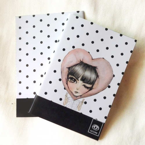 aksorn mini notebook 03 สมุดโน๊ตขนาด A6 large image 0 by aksorn