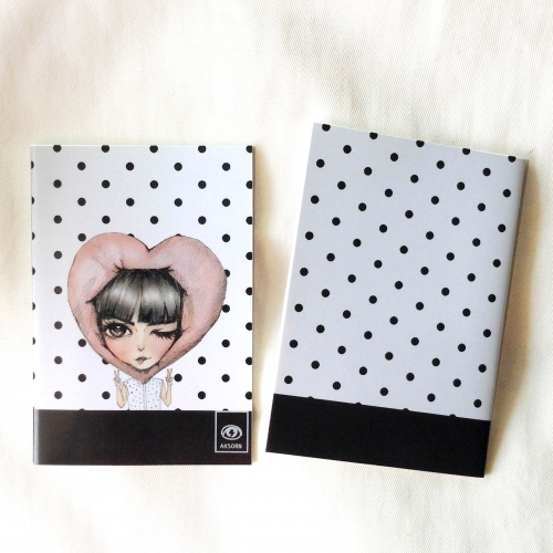 aksorn mini notebook 03 สมุดโน๊ตขนาด A6 large image 1 by aksorn