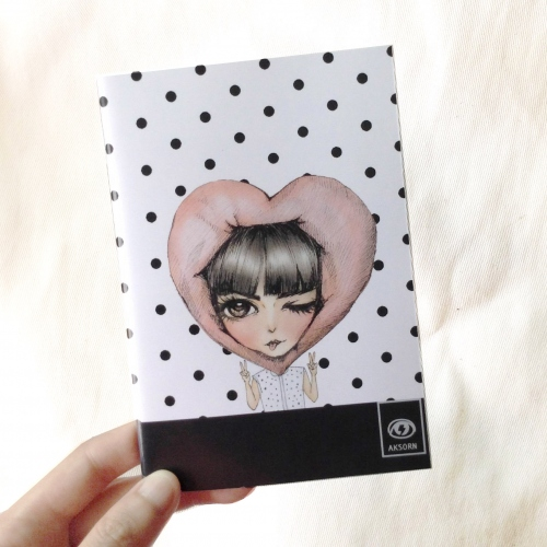 aksorn mini notebook 03 สมุดโน๊ตขนาด A6 large image 2 by aksorn