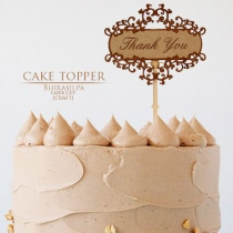 CAKE TOPPER ตกแต่งหน้าเค้ก at Blisby