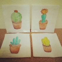 """The Coasters"" : Cactus collection at Blisby"