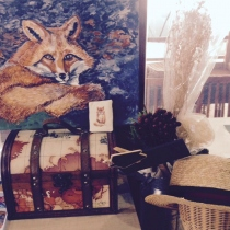 fox acrylic at Blisby