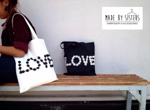 *Create font bag large image 0 by MADEbySistersshop