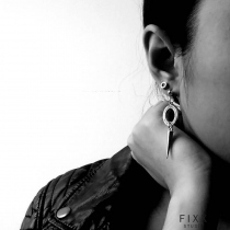 SPIKE EARRINGS  at Blisby