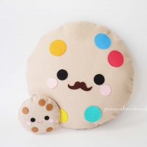 cookie pillow at Blisby