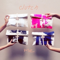 row up clutch bag at Blisby