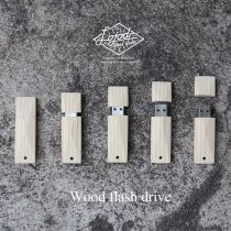 Wood Flash drive (8 GB) at Blisby