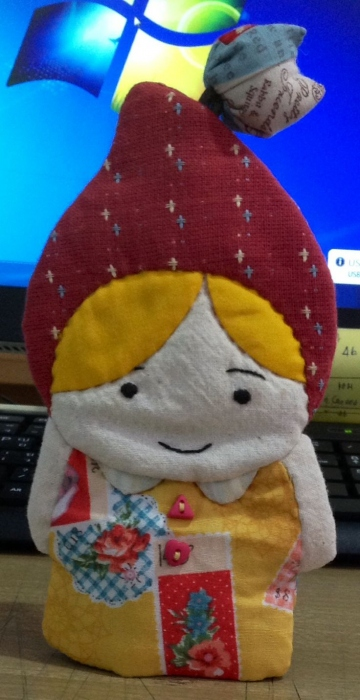 Key cover หมวยหมวกแดง large image 0 by ILoveQuilt