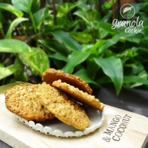 Granola Cookie : mango & coconut at Blisby