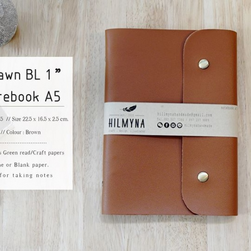 Notebook A5 แบบที่ 2 large image 1 by HILMYNA