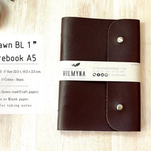 Notebook A5 แบบที่ 2 large image 2 by HILMYNA
