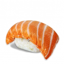 salmon sushi pillow at Blisby