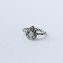 Water Drop Twisted Ring at Blisby