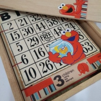 Red is for Elmo : Notebook สมุดบันทึกขนาด A6 พร้อมกล่องไม้ at Blisby