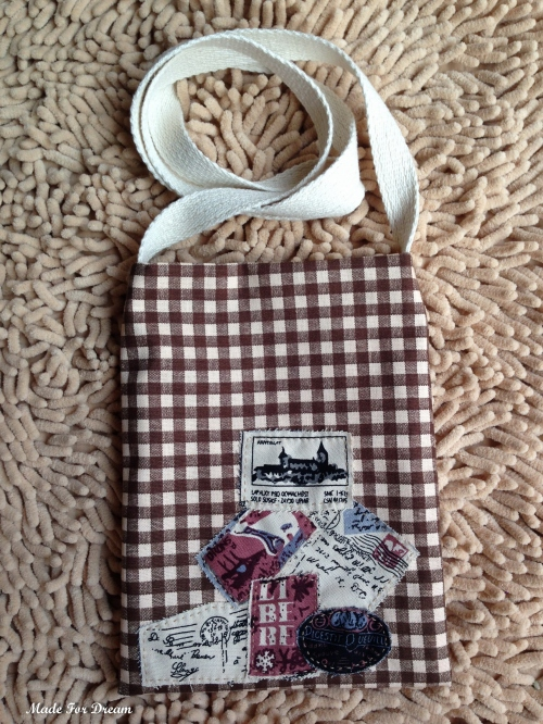 MFD plaid brown sling bag กระเป๋าสะพายข้าง*Handmade* สีน้ำตาล large image 0 by MadeForDream