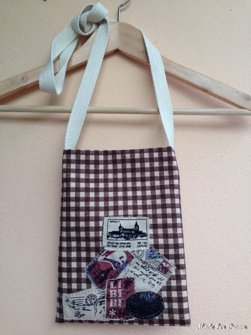 MFD plaid brown sling bag กระเป๋าสะพายข้าง*Handmade* สีน้ำตาล large image 1 by MadeForDream