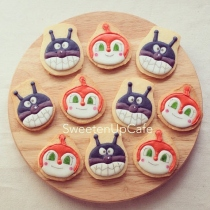 Anpanman and Friends Icing Cookies at Blisby