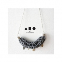 NECKLACE (LIGHT GREY) at Blisby