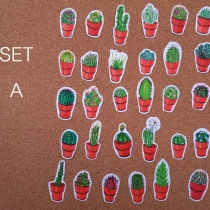 cactus sticker set 20 ชิ้น  at Blisby