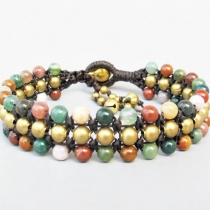 Boho Candy Season with Stone Bead and Brass Bead at Blisby
