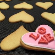 Valentine Cookies at Blisby