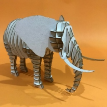 Elephant 3D Puzzle  at Blisby