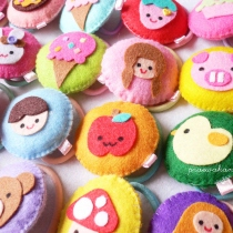 m doll/brooch/keychain at Blisby