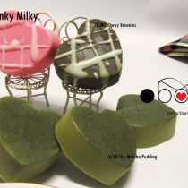obouan handmade soap - VC006 Pinky Milky at Blisby