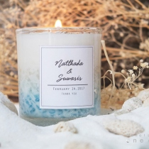 Sea Circle Lover Candles at Blisby