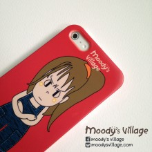 Nari, Handmade Phone Case with Moody Cute Cartoon, iPhone & Galaxy at Blisby